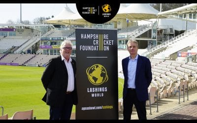 Hampshire Cricket & Lashings World XI Launch Partnership To Support Hampshire Cricket Foundation